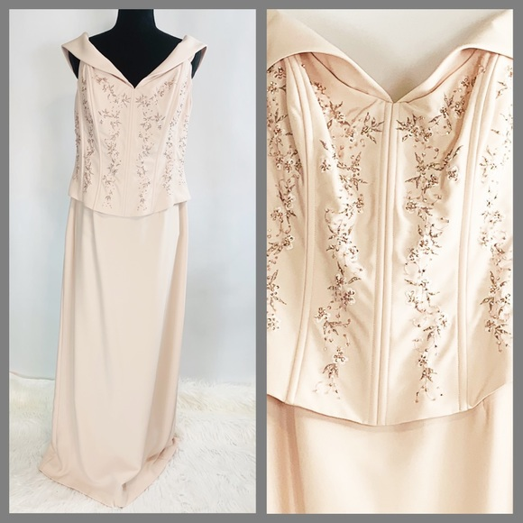 David's Bridal Dresses & Skirts - Mother of the Bride or Groom Slimming Torso Dress